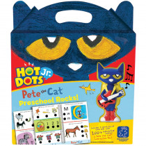 EI-2452 - Hot Dots Jr Pete The Cat Preschool Rocks Set & Pen in Hot Dots