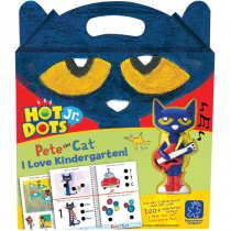 EI-2453 - Hot Dots Jr Pete The Cat I Love Kindergarten Set & Pen in Hot Dots