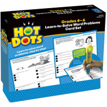 EI-2766 - Hot Dots Learn To Solve Word Problem Set Gr 4-6 in Hot Dots
