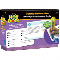 EI-2790 - Hot Dots Reading Comprehension Kits Set 1 Getting The Main Idea in Hot Dots