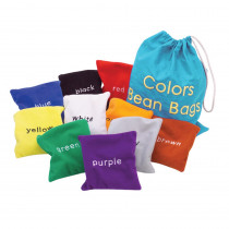 EI-3046 - Colors Bean Bags in Bean Bags & Tossing Activities