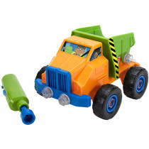 EI-4129 - Design Pwr Play Vehicle Dump Truck And Drill in Blocks & Construction Play