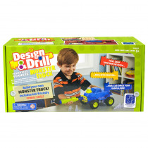 EI-4132 - Design & Drill Power Play Vehicles Monster Truck in General