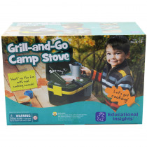 EI-5108 - Lets Pretend Grill & Go Camp Stove in Homemaking