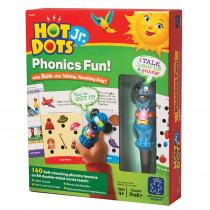 EI-6107 - Phonics Fun 80 2-Sided Cards & Power Pen in Hot Dots