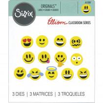 ELLA11287 - Big Dies Emojis in Accents