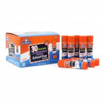 ELME555 - Elmers 30Pk School Purple Glue Sticks Disappearing Washable in Glue/adhesives