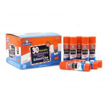 ELME555 - Elmers 30Pk School Purple Glue Sticks Disappearing Washable in Glue/adhesives