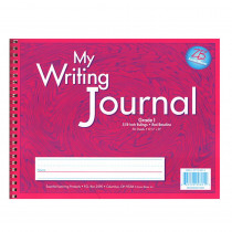 ELP0601 - My Writing Journals Pink Gr 1 in Writing Skills