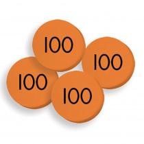 ELP626652 - 100 Hundreds Place Value Discs Set in Manipulative Kits