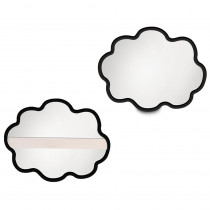 ELP626684 - Thought Clouds Dry Erase Board Set Of 6 in Dry Erase Boards