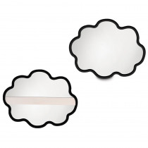 ELP626685 - Thought Cloud Dry Erase Board Set Of 24 in Dry Erase Boards