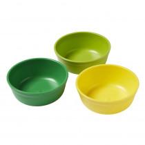 Bowls, Citrus, Set of 3 - ELR18100CIT | Ecr4kids, L.P. | Homemaking