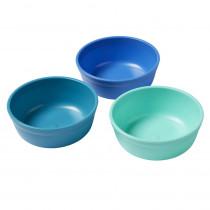 Bowls, Tropical, Set of 3 - ELR18100TRP | Ecr4kids, L.P. | Homemaking