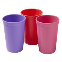 Tumblers, Berry, Set of 3 - ELR18102BE | Ecr4kids, L.P. | Homemaking