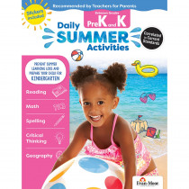 EMC1070 - Moving From Prek To Kindergarten Daily Summer Activities in Skill Builders
