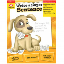 EMC205 - Write A Super Sentence Gr 1-3 in Writing Skills