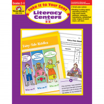 EMC2723 - Take It To Your Seat Literacy Centers in Activities
