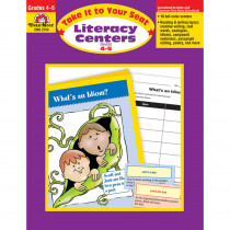 EMC2724 - Take It To Your Seat Literacy Centers Gr 4-5 in Activities