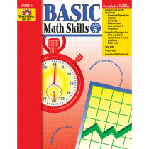 EMC3018 - Basic Math Skills Gr 5 in Activity Books