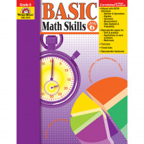 EMC3019 - Basic Math Skills Gr 6 in Activity Books