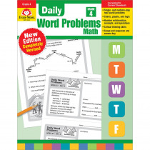 EMC3094 - Daily Word Problems Math Grade 4 in Activity Books