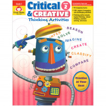 EMC3392 - Critical And Creative Thinking Activities Gr 2 in Games & Activities