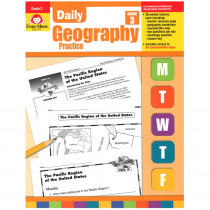 EMC3712 - Daily Geography Practice Gr 3 in Geography