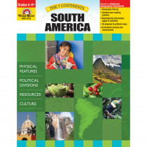 EMC3732 - 7 Continents South America in Geography