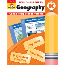 EMC3740 - Skill Sharpeners Geography Gr K in Geography