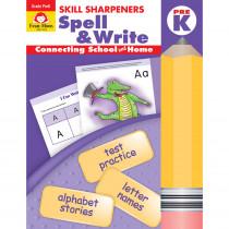 EMC4535 - Skill Sharpeners Spell & Write Prek in Spelling Skills