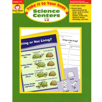 EMC5002 - Take It To Your Seat Science Centers Gr 1-2 in Activity Books & Kits