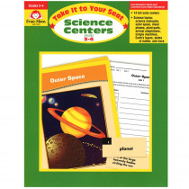 EMC5003 - Take It To Your Seat Science Centers Gr 3-4 in Activity Books & Kits