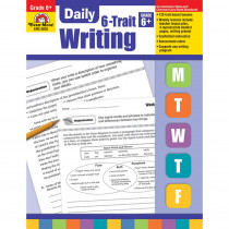 EMC6026 - Daily 6 Trait Writing Gr 6 in Writing Skills