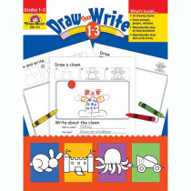 EMC731 - Draw Then Write Gr 1-3 in Art Activity Books