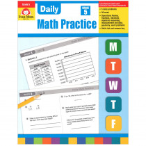 EMC754 - Daily Math Practice Gr 5 in Activity Books