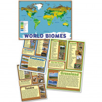 EP-2275 - World Biomes Bulletin Board Set in Social Studies