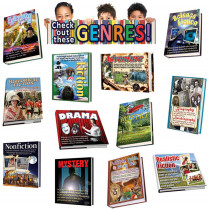 EP-2292 - Exploring Genres Bulletin Board Set in Social Studies