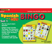 EP-2345 - Spanish In A Flash Bingo Set 1 in Games