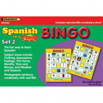 EP-2346 - Spanish In A Flash Bingo Set 2 in Games