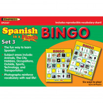 EP-2347 - Spanish In A Flash Bingo Set 3 in Games