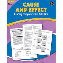 EP-2363 - Cause Effect Comprehension Book Blue Level in Comprehension