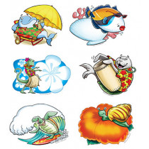 EP-3135 - Aloha Animals Bulletin Board Set Accent in Accents