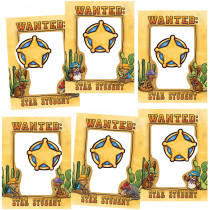 EP-3158 - Wanted Star Student Frames Accents in Accents