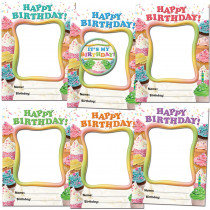 EP-3184 - Happy Birthday Cupcakes Frames Accents in Accents