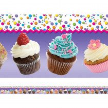 EP-3263 - Cupcakes Layered Border in Border/trimmer
