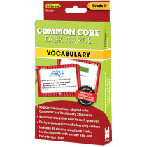 EP-3339 - Gr K Common Core Task Cards Vocabulary in Vocabulary Skills