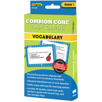 EP-3340 - Gr 1 Common Core Task Cards Vocabulary in Vocabulary Skills