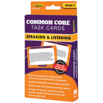 EP-3365 - Common Core Task Cards Speaking & Listening Gr 2 in Language Skills
