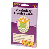 EP-3372 - Brain Blasters Vocabulary Practice Cards Gr 3 in Vocabulary Skills